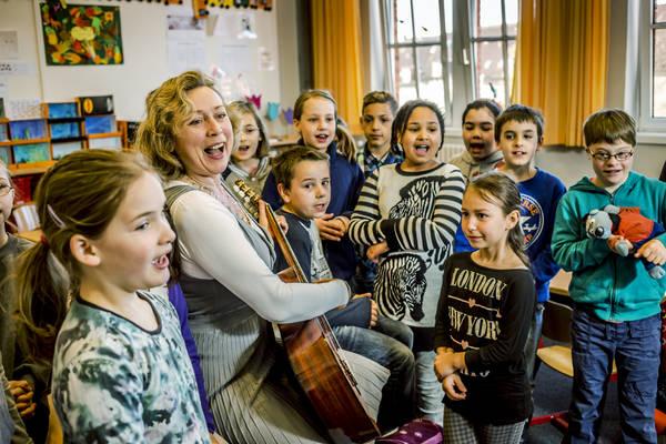 Lernen kann Spaß machen. Foto: Robert Bosch Stiftung/Theodor Barth