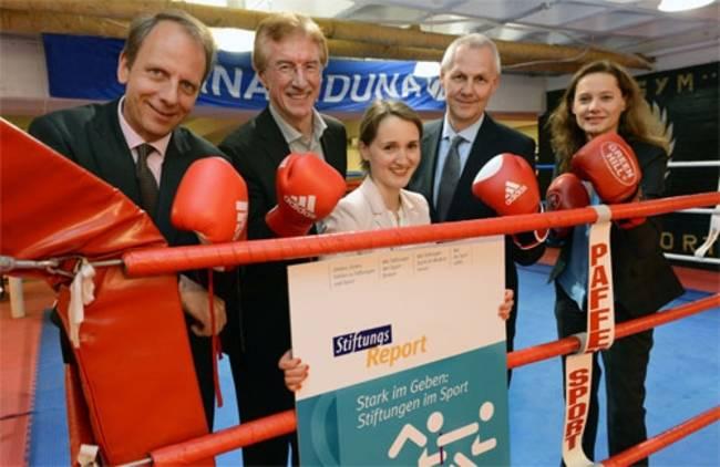 Sport im Fokus. Foto: Bundesverband Deutscher Stiftungen