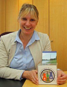 Anja Spliessgardt, Vorstandsvorsitzende der Bürgerstiftung Nortorfer Land.