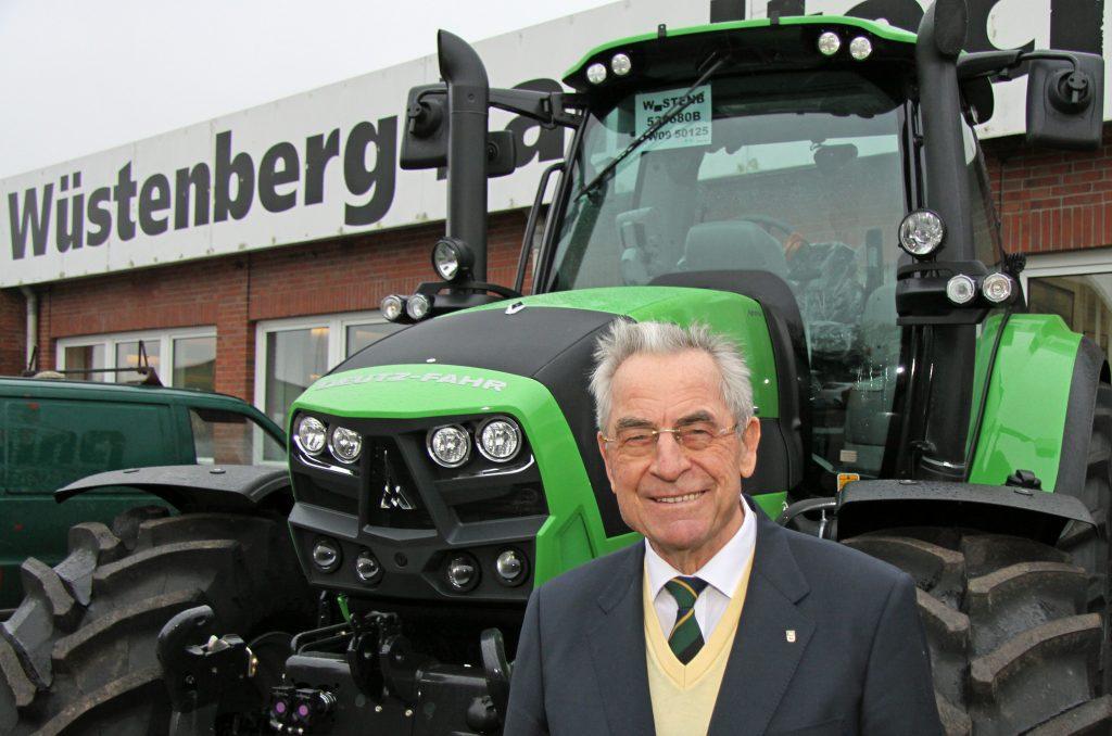 Landtechnik-Unternehmer Heinz Wüstenberg: Erster Gewinner des Stifterpreises 2013