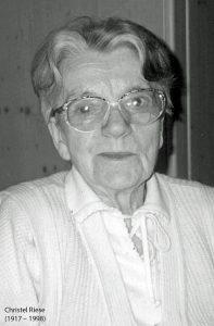 Stifterin Christel Riese
